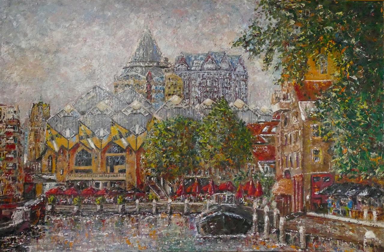 Rotterdam, Oude haven, Kubuswoningen